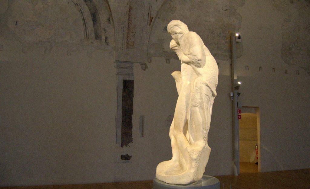 Pietà Rondanini - Wer stützt wen