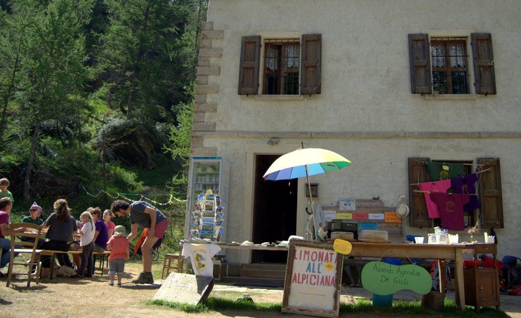 Empang an der Porteia Alpe Veglia