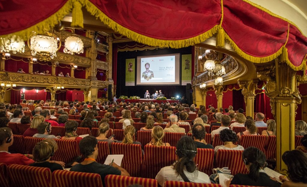 Teatro Carignano, Foto: Alessandro Vargiu, Slow Food Archiv