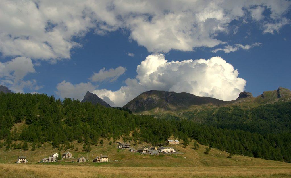 Hotels und Häuser Alpe Veglia