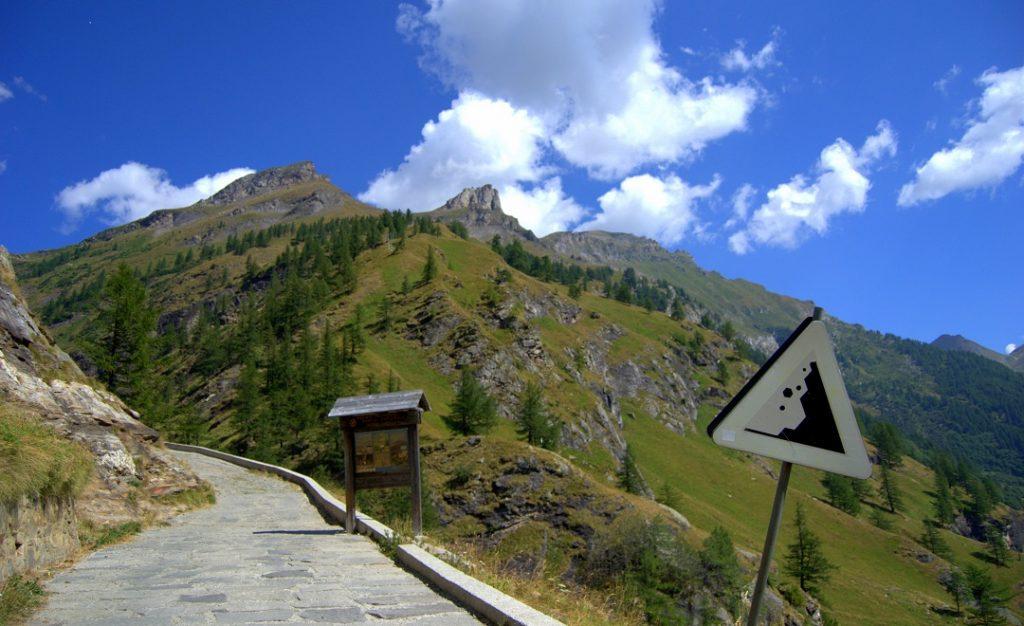 Jeepstraße zur Alpe Veglia