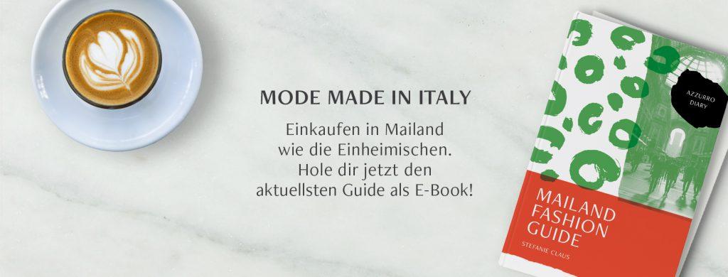 Mailand Shopping Guide von Azzurro Diary