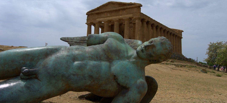 Valle dei templi Agrigento Sizilien