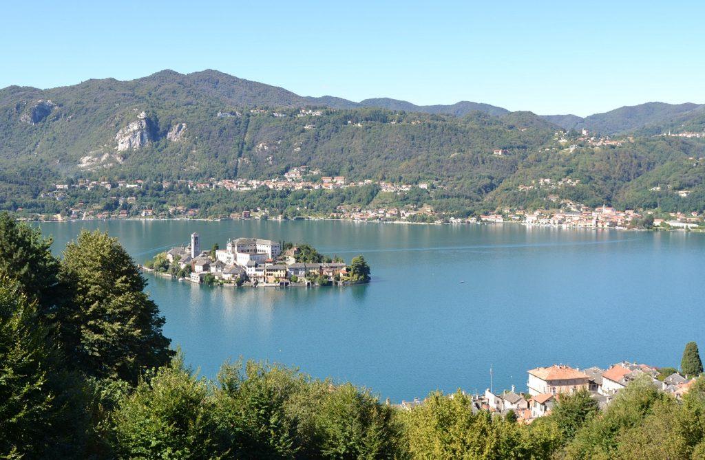 Isola San Giulia Lago d'Orta, Piemonte