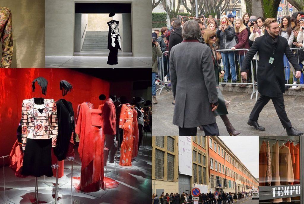 Mailand Fashion Week besuchen