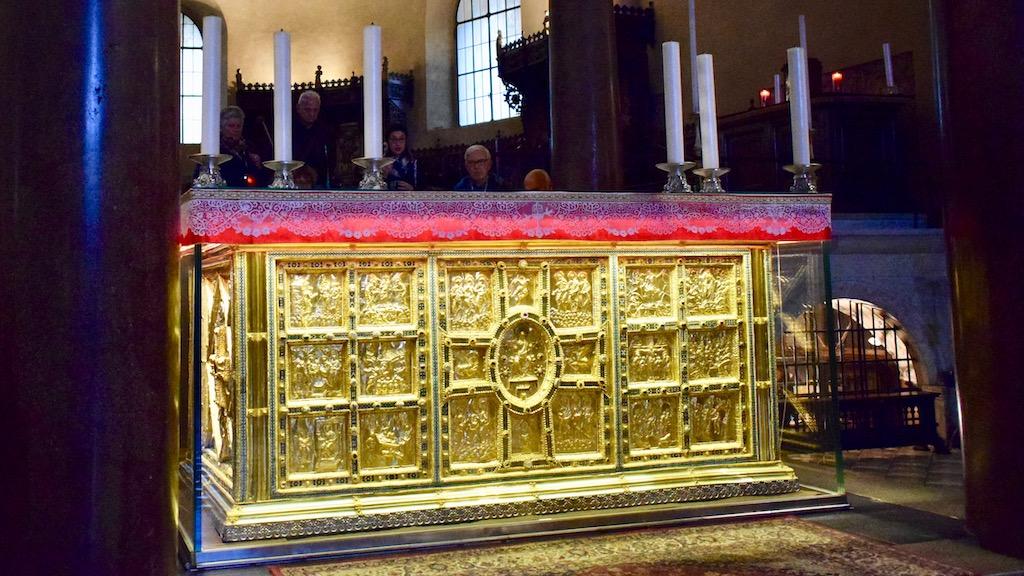 Sant'Ambrogio Altarverkleidung