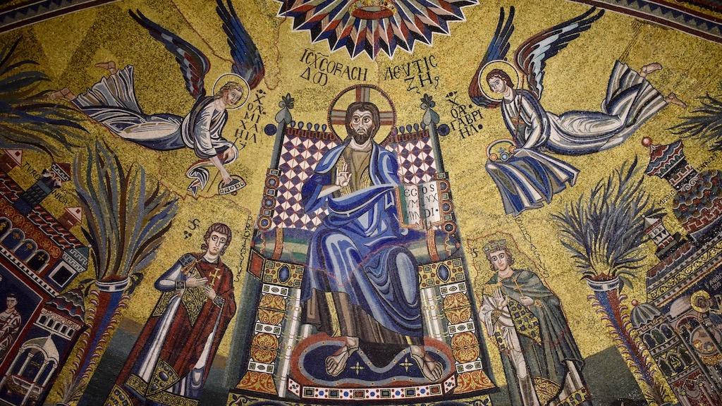Sant'Ambrogio Apsismosaik
