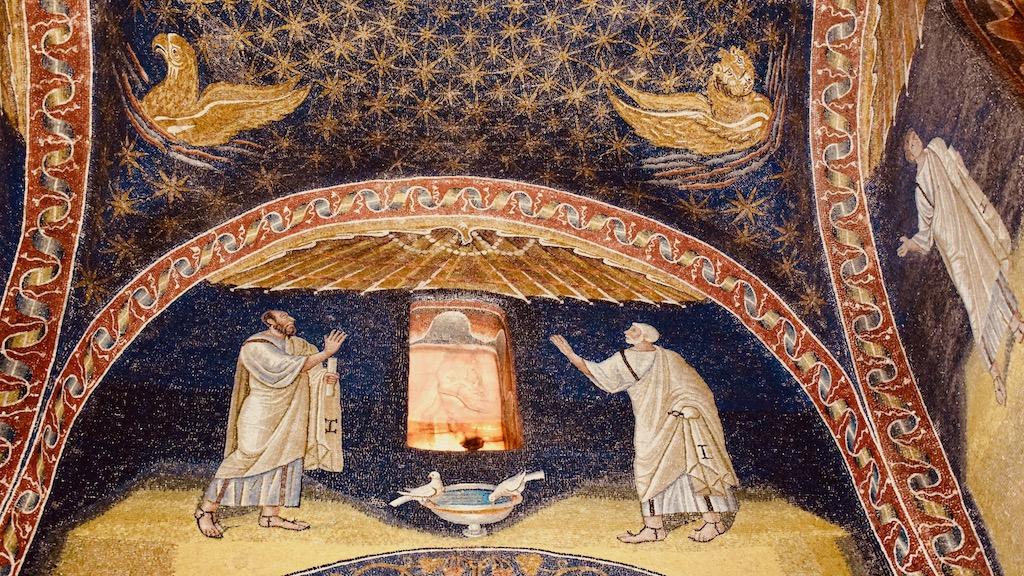 Lünette Mausoleo Galla Placidia – Reise Geschichten Emilia-Romagna