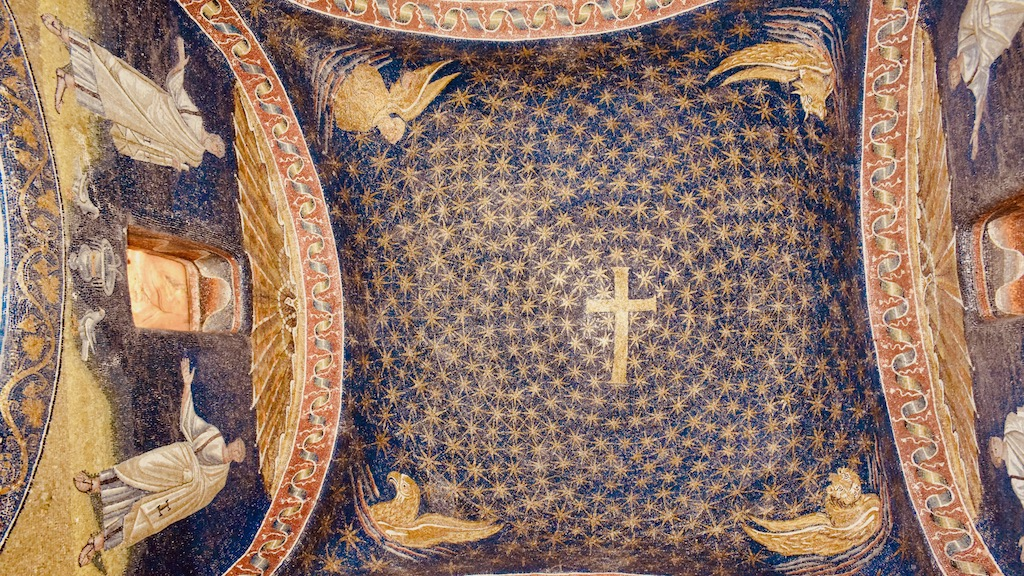 Sternenhimmel Mausoleo Galla Placidia – Reise Geschichten Emilia-Romagna